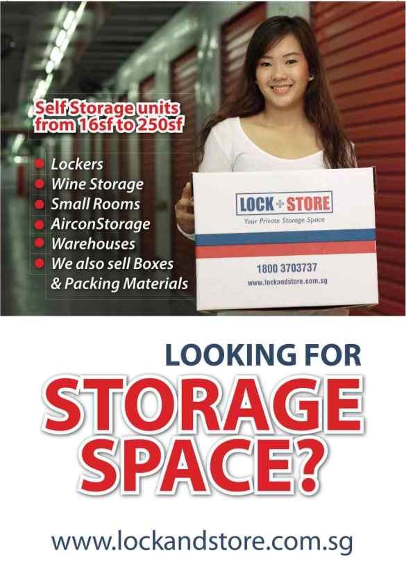 Lock+Store flyera